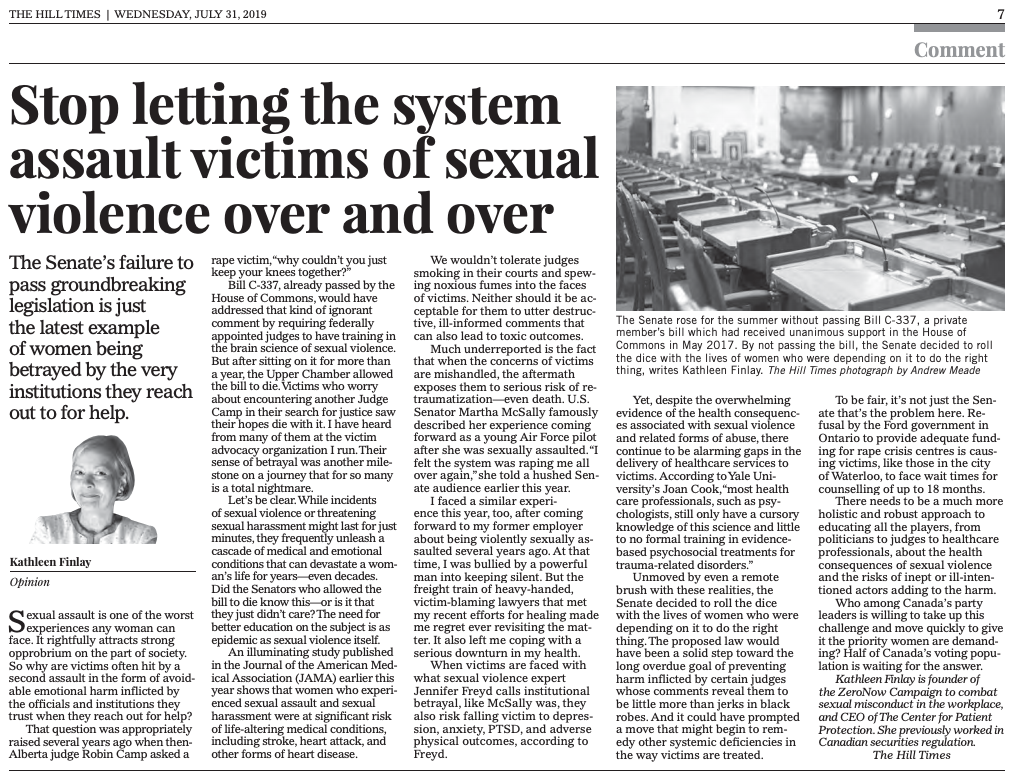 Sexual Assault And Harassment Fact Sheet